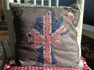 Stamp Cushion