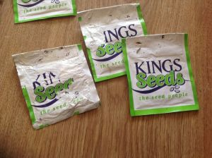 Mystery Seed packets