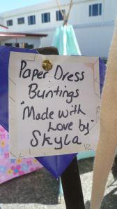 Skyla Paper Dress